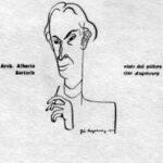 L'Arch. Alberto Sartoria in caricatura