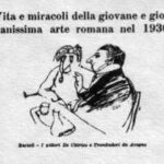 Bartoli - I pittori De Chirico e Trombadori da Aragno