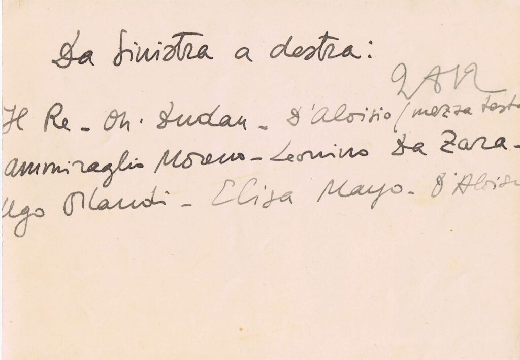 Roma, 11 Maggio 1929 - La Visita del Re Vittorio Emanuele III alla Mostra di Carlo D'Aloisio ed Elisabetta Mayo